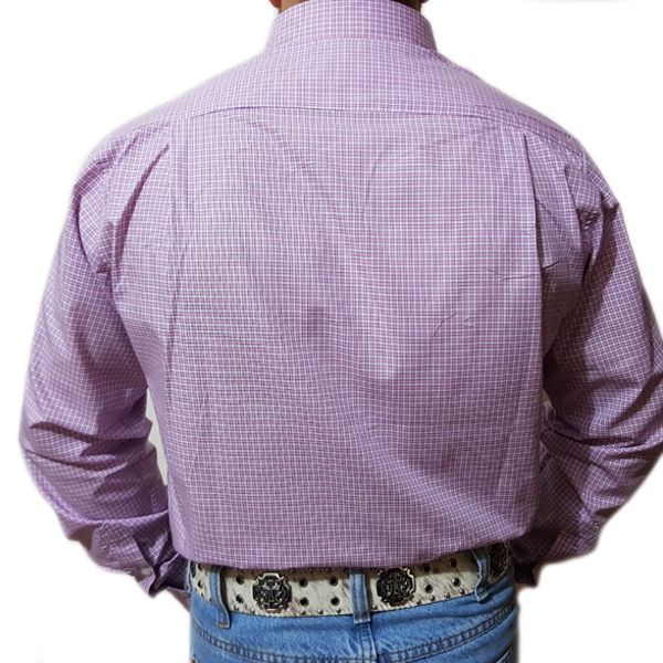 Camisa King Farm Xadrez Rosa/ Azul - CKF0008