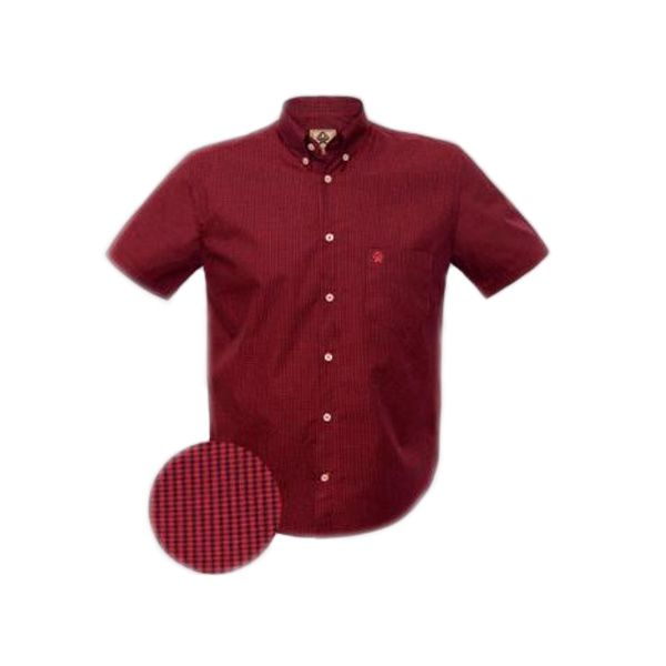 Camisa Ox Horns Xadrez Vermelho/ Preto - 9121