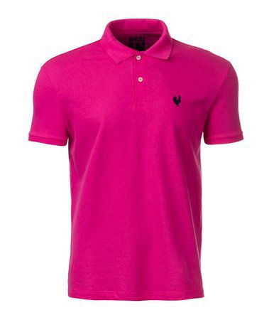 Camisa Polo Masculina Made In Mato Pink - P2012