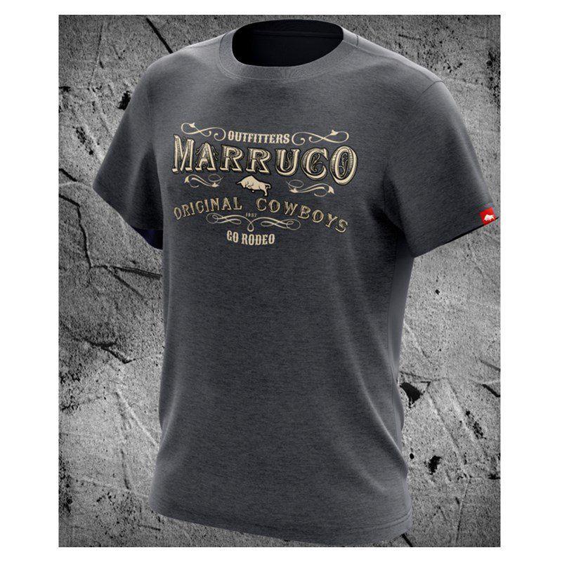 Camiseta Marruco Sertanejo Cinza Mescla