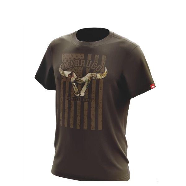 Camiseta Marruco Sertanejo Marrom