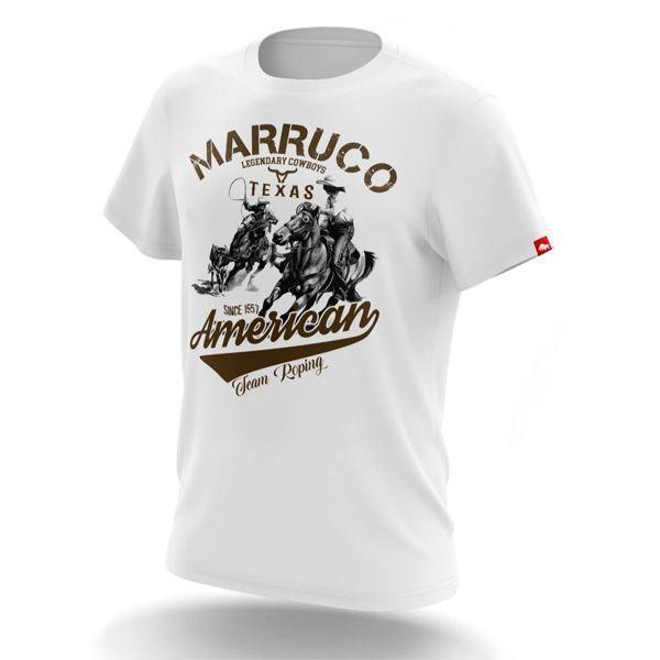 Camiseta Marruco Sertanejo White Ropers