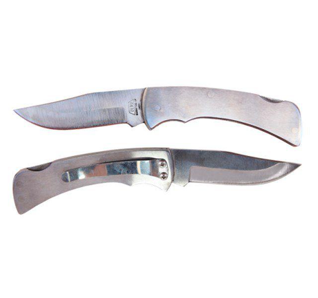 Canivete Zebu Inox com Trava