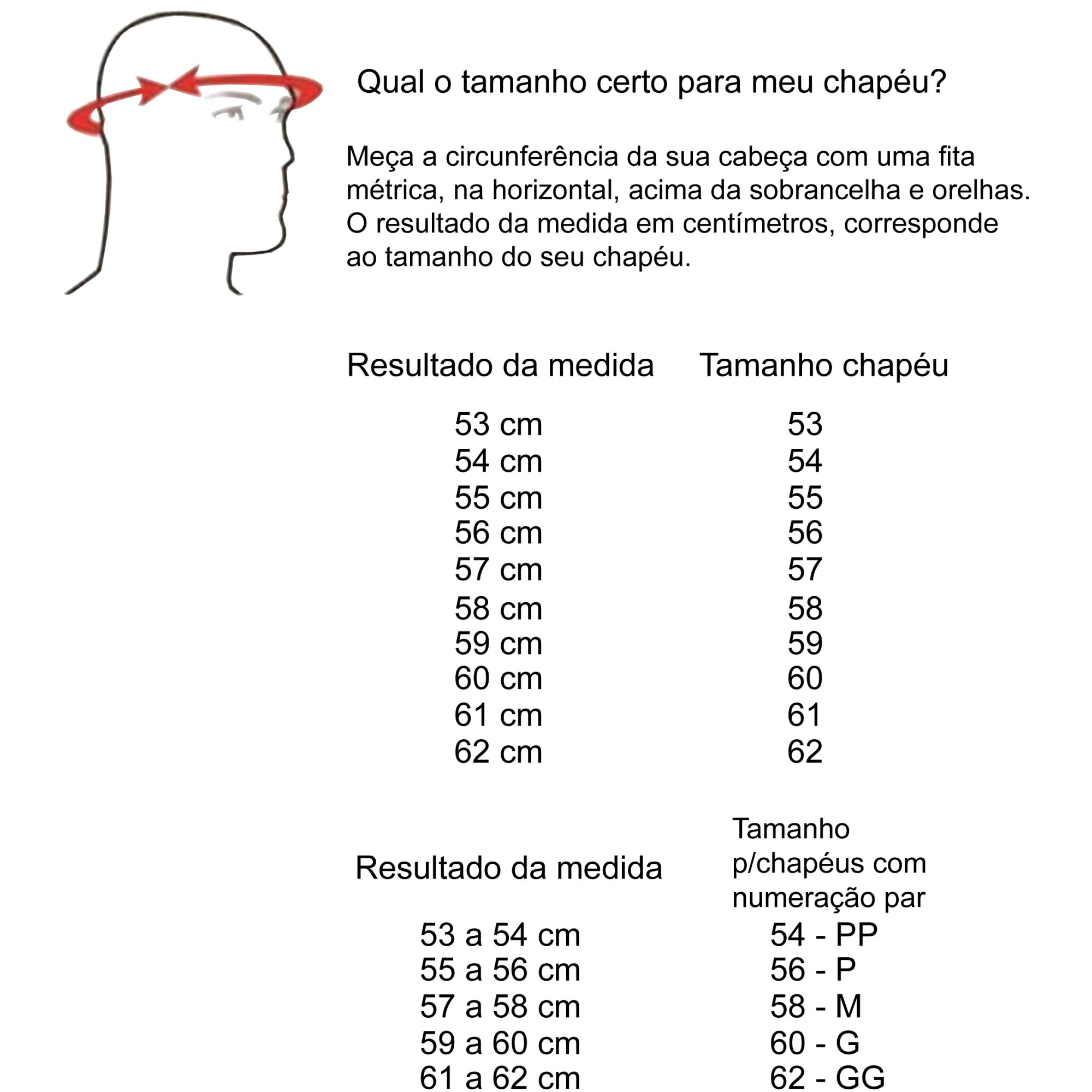 Chapéu Marcatto Country Feltro Preto - 14443