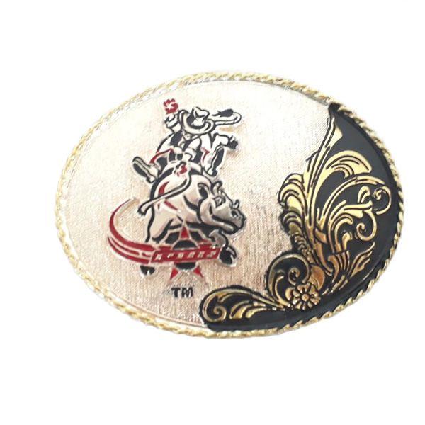Fivela Infantil PBR Bull Rider 2076