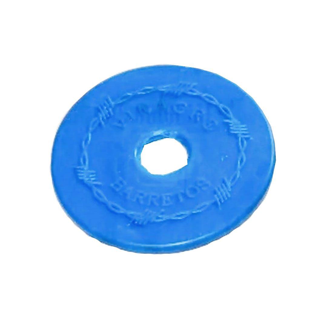 Protetor Lateral de Borracha para Freio e Bridão Azul