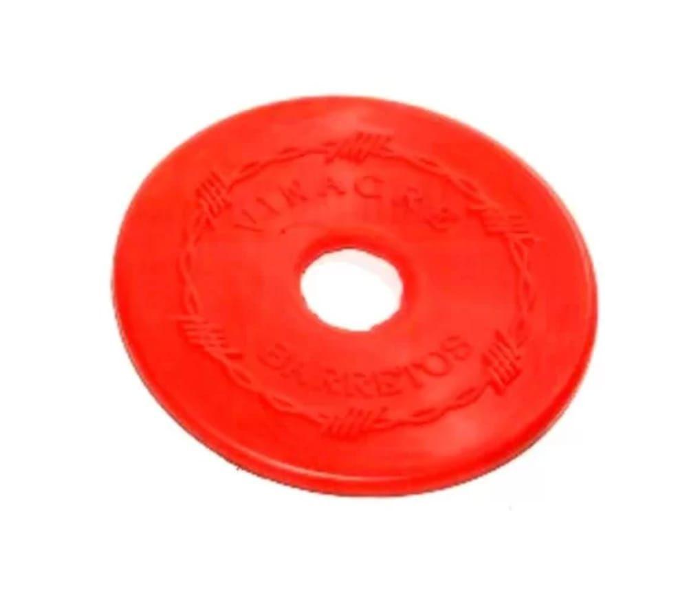 Protetor Lateral de Borracha para Freio e Bridão Vermelho
