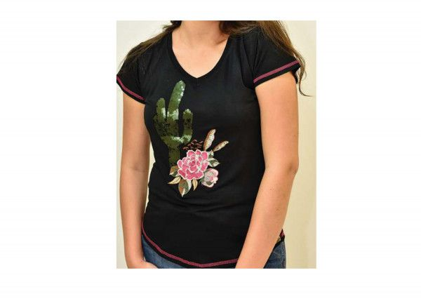 T-shirt Miss Country Cactus - 357