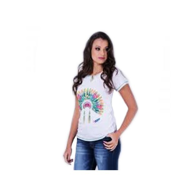 T-shirt Miss Country cocar - 284
