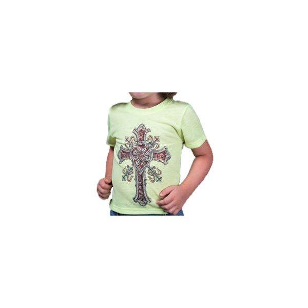 T-Shirt Infantil Miss Country Tee Metalic Cross - 328