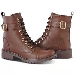 f678938ac Bota Coturno Feminino - Loja de Calçados Online: Coturnos Botas ...