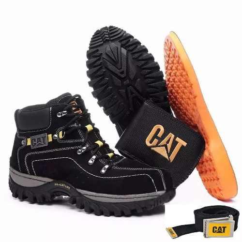 8af183a1ad Bota Coturno Caterpillar Adventure Couro 2113 - Loja de Calçados ...