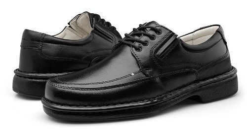 6d51bdca5 Sapato Super Confort Masculino Ortopedico Couro Legitimo - Loja de ...