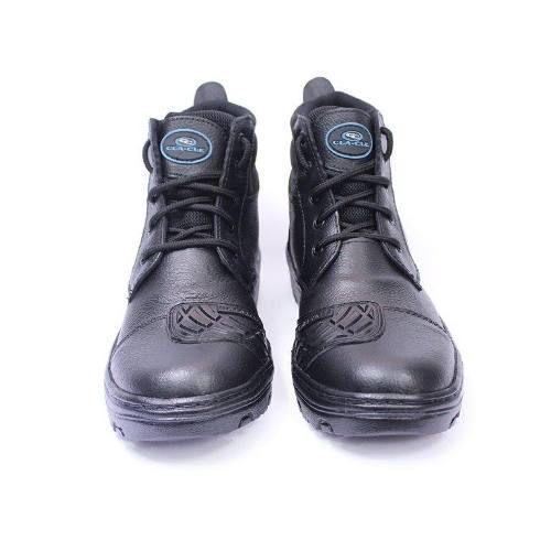 addb4e997b9 Bota Coturno Motoqueiro Couro Protetor De Marcha - Loja de Calçados Online   Coturnos Botas Bolças Em Oferta Na CfShoes