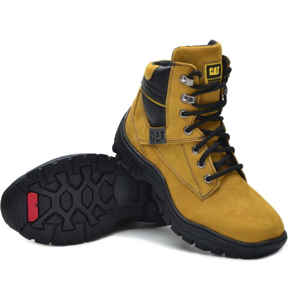880d0a049 BOTA CATERPILLAR 2155 - Dourada COURO - Loja de Calçados Online ...