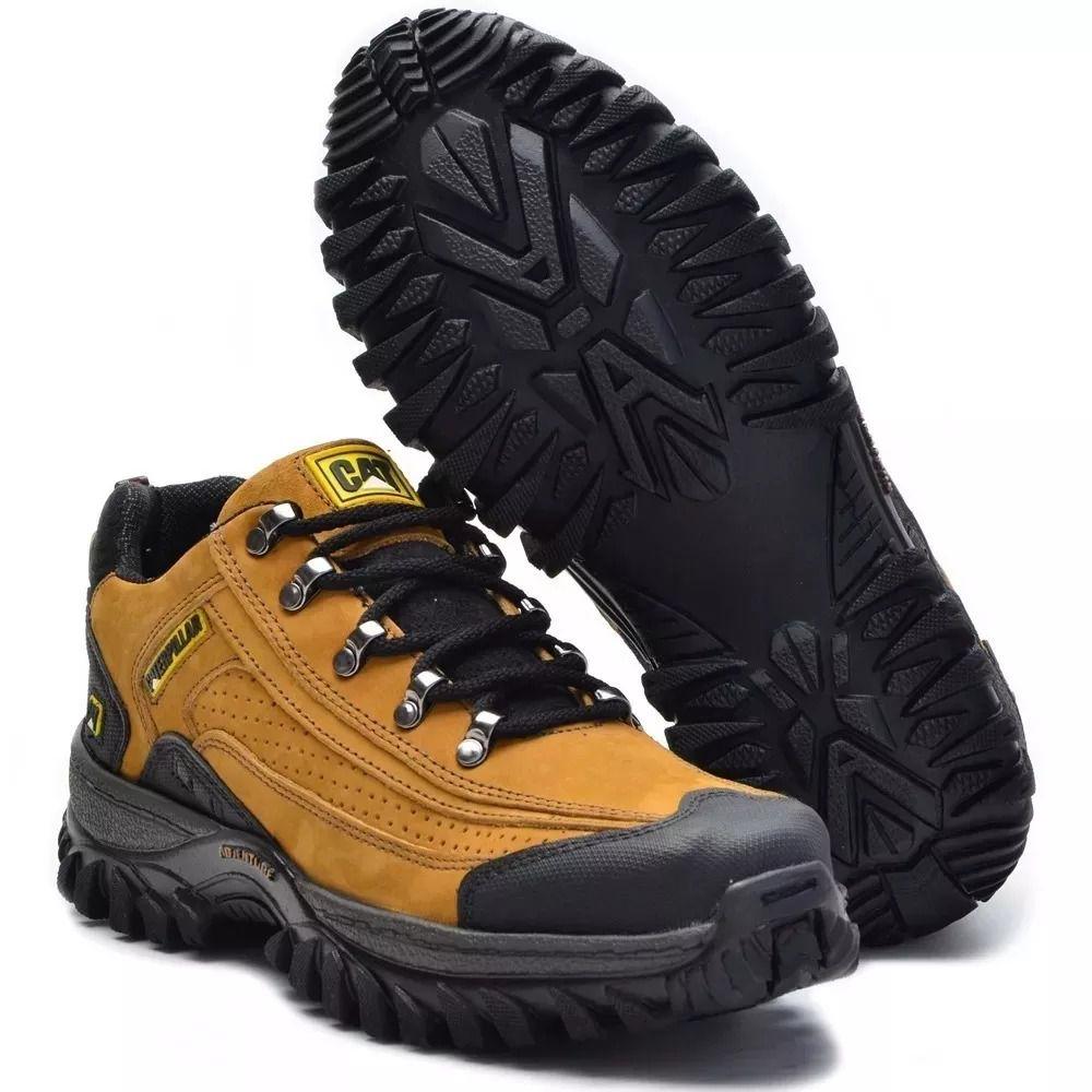 2a5cf491351 Tênis Caterpillar Couro Preto 2085 - Loja de Calçados Online ...
