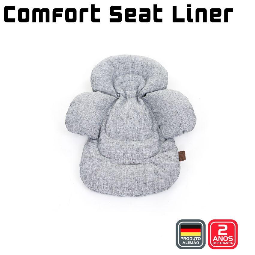 ALMOFADA COMFORT SEAT LINER ABC DESIGN - GRAPHITE GREY