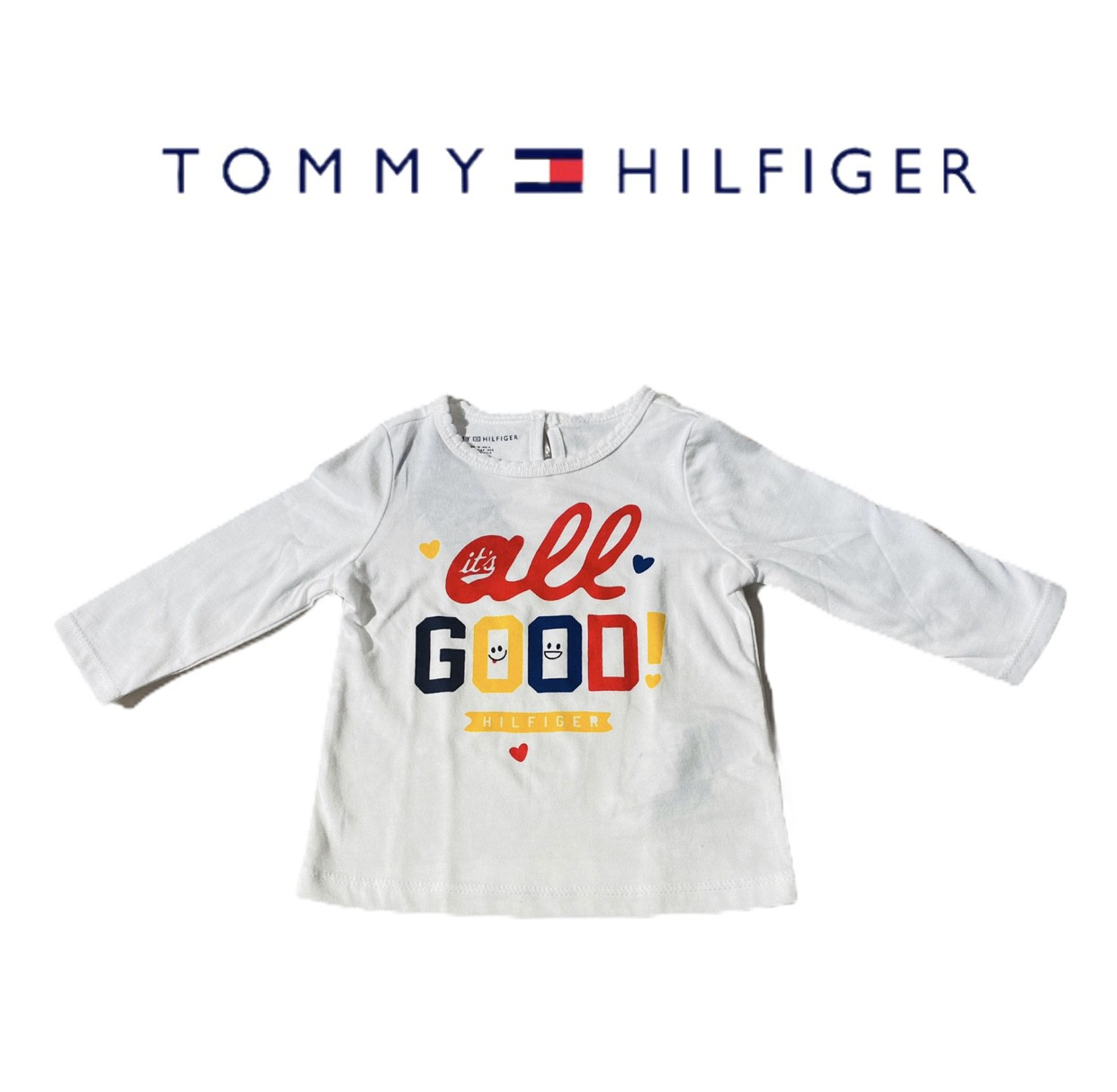 CAMISETA TOMMY HILFIGER® ALL GOOD
