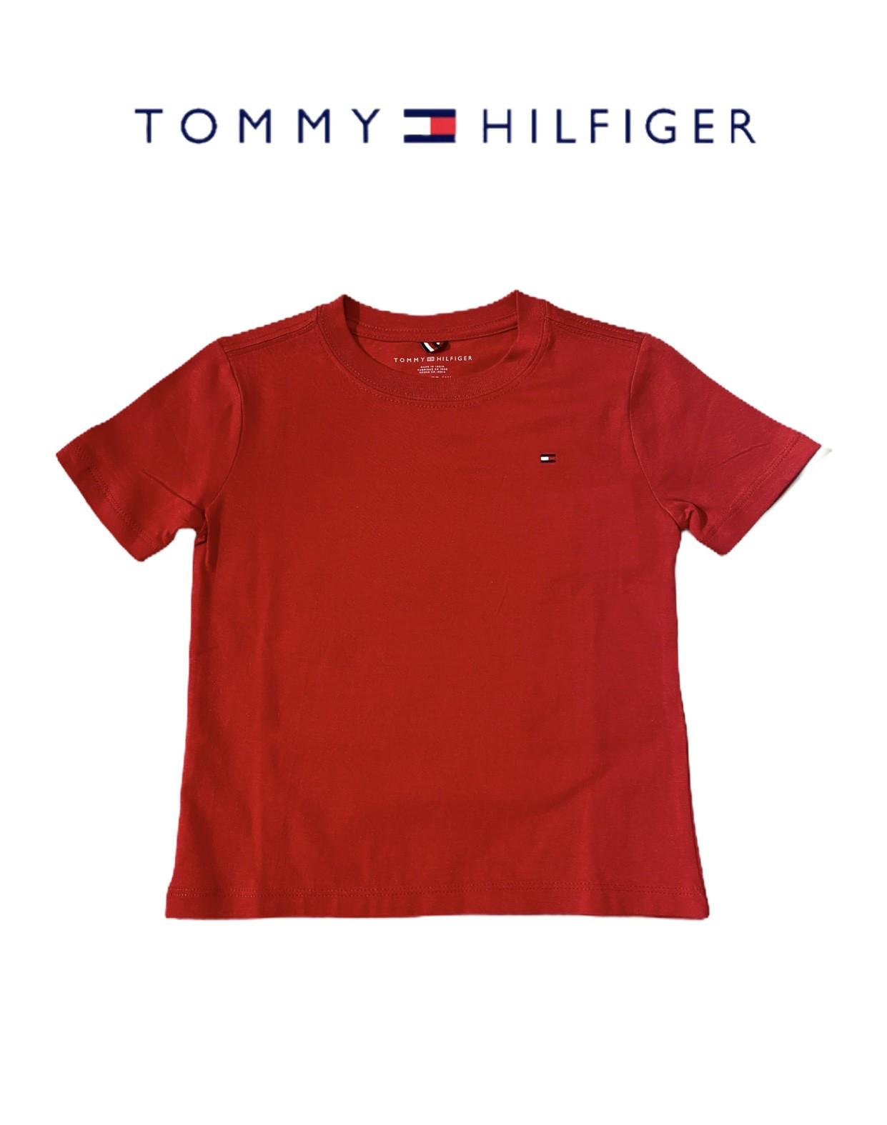 CAMISETA TOMMY HILFIGER® VERMELHA