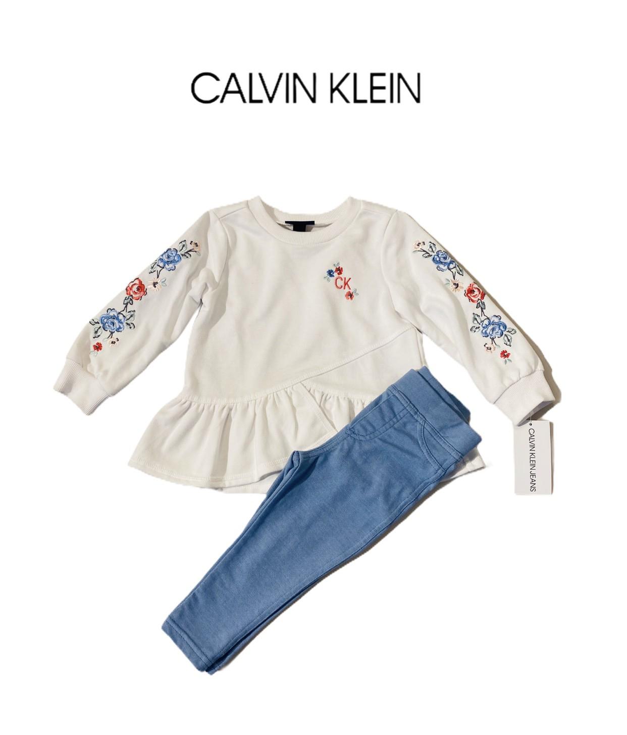 CONJUNTO MOLETOM CALVIN KLEIN® FLORES