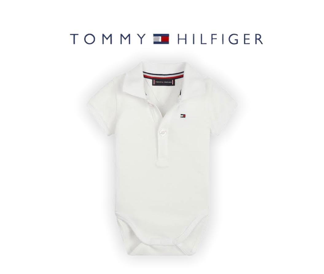 POLO BODY TOMMY HILFIGER® BRANCO