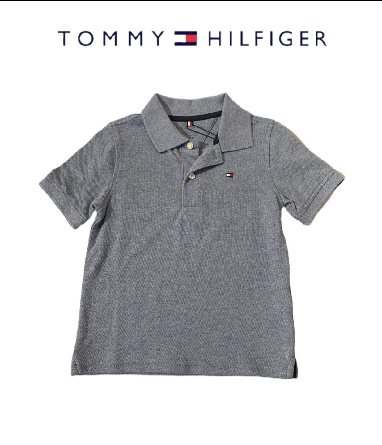 POLO TOMMY HILFIGER® AZUL MESCLADO