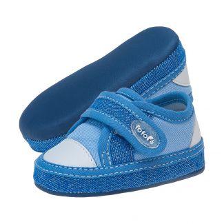 All'star Masculino Velcro Azul Jeans - FOFOPÉ