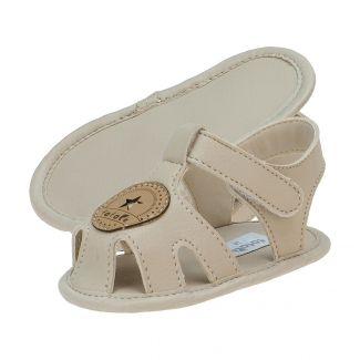 Sandália Bebê Masculina Velcro Areia - FOFOPÉ