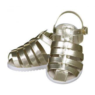 Sandália Dourada Menina - FOFOPÉ