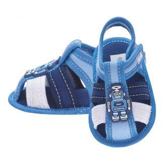 Sandália Menino Robô Azul Jeans - FOFOPÉ