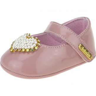 Sapato Boneca Coração Fofopé