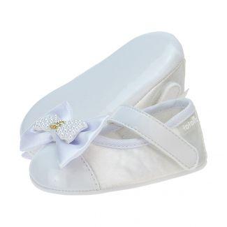 Sapato Boneca Laço Menina Branca - FOFOPÉ