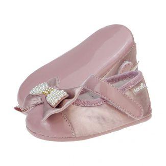 Sapato Boneca Laço Menina Rosê - FOFOPÉ
