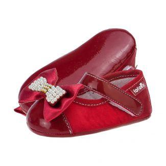 Sapato Boneca Laço Menina Vermelho - FOFOPÉ