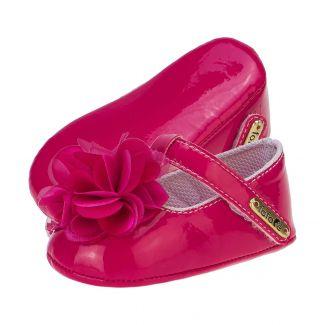 Sapato Boneca Menina Flor Pink - FOFOPÉ