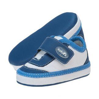 Tênis Masculino Velcro Azul Jeans - FOFOPÉ