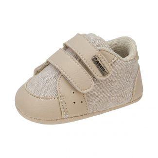 Tênis Menino Bebê Cor Areia - Itmalia