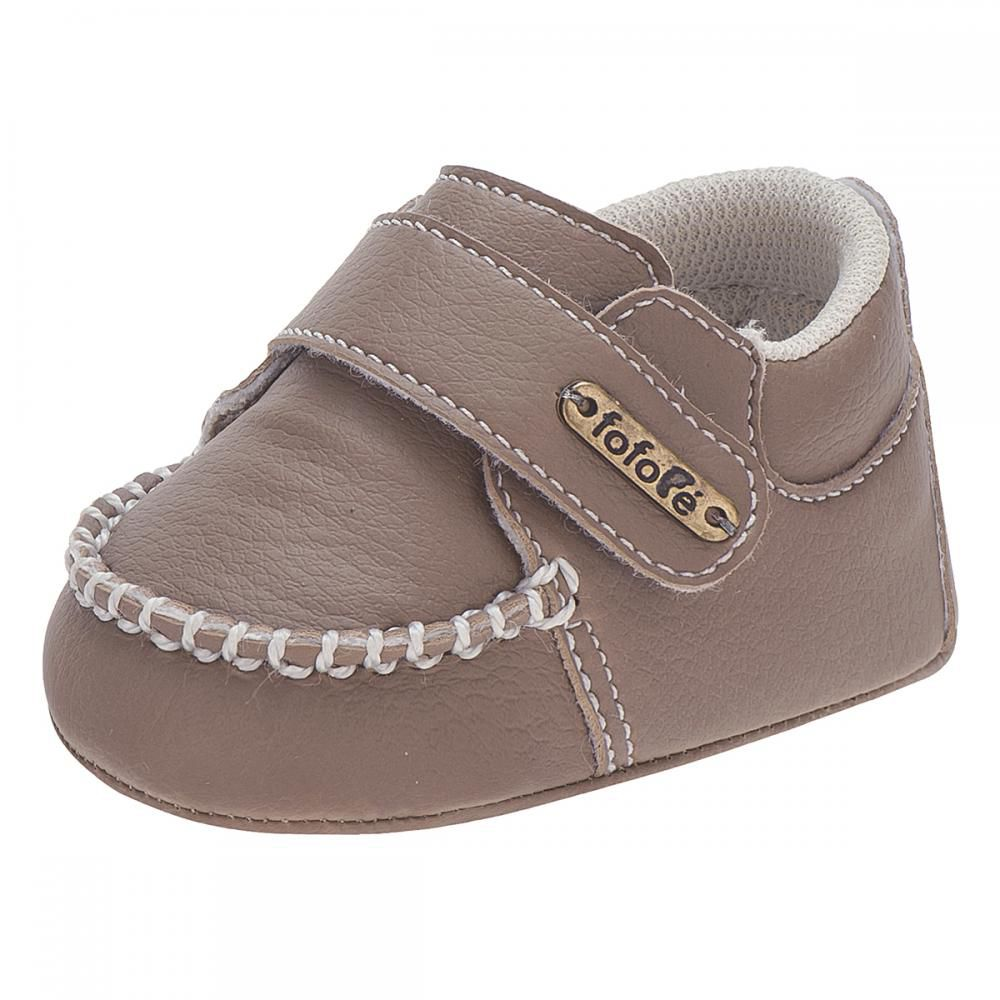 Mocassim Infantil Velcro Castor Menino - FOFOPÉ