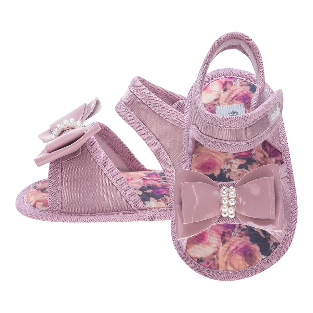 Sandália Laço Rosê Menina - FOFOPÉ