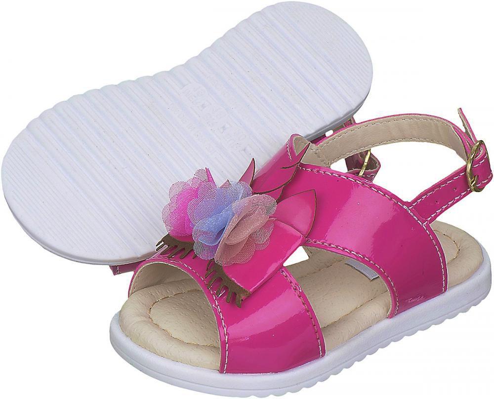 Sandália Unicórnio Pink Menina - FOFOPÉ