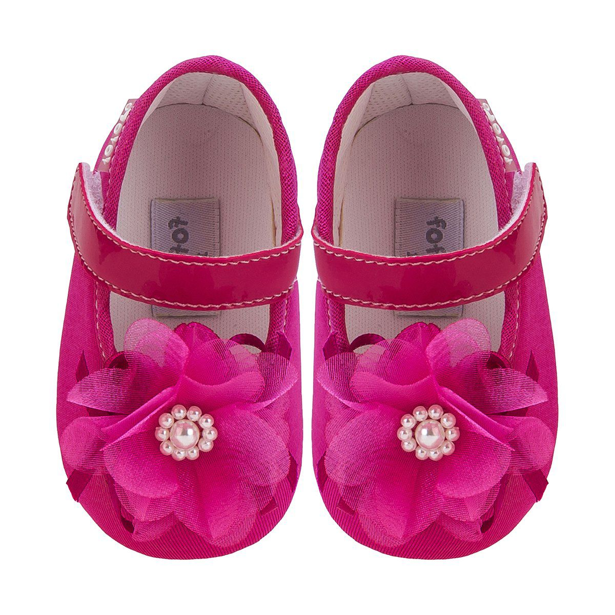 Sapato Boneca Flor Menina Pink - FOFOPÉ
