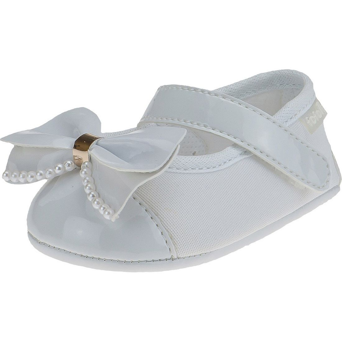 Sapato Boneca Fofopé Laço Sintético