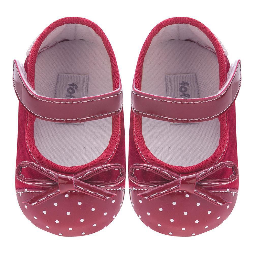 Sapato Boneca Vermelho - FOFOPÉ