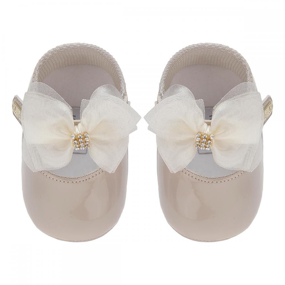 Sapato Boneca Laço Areia - FOFOPÉ