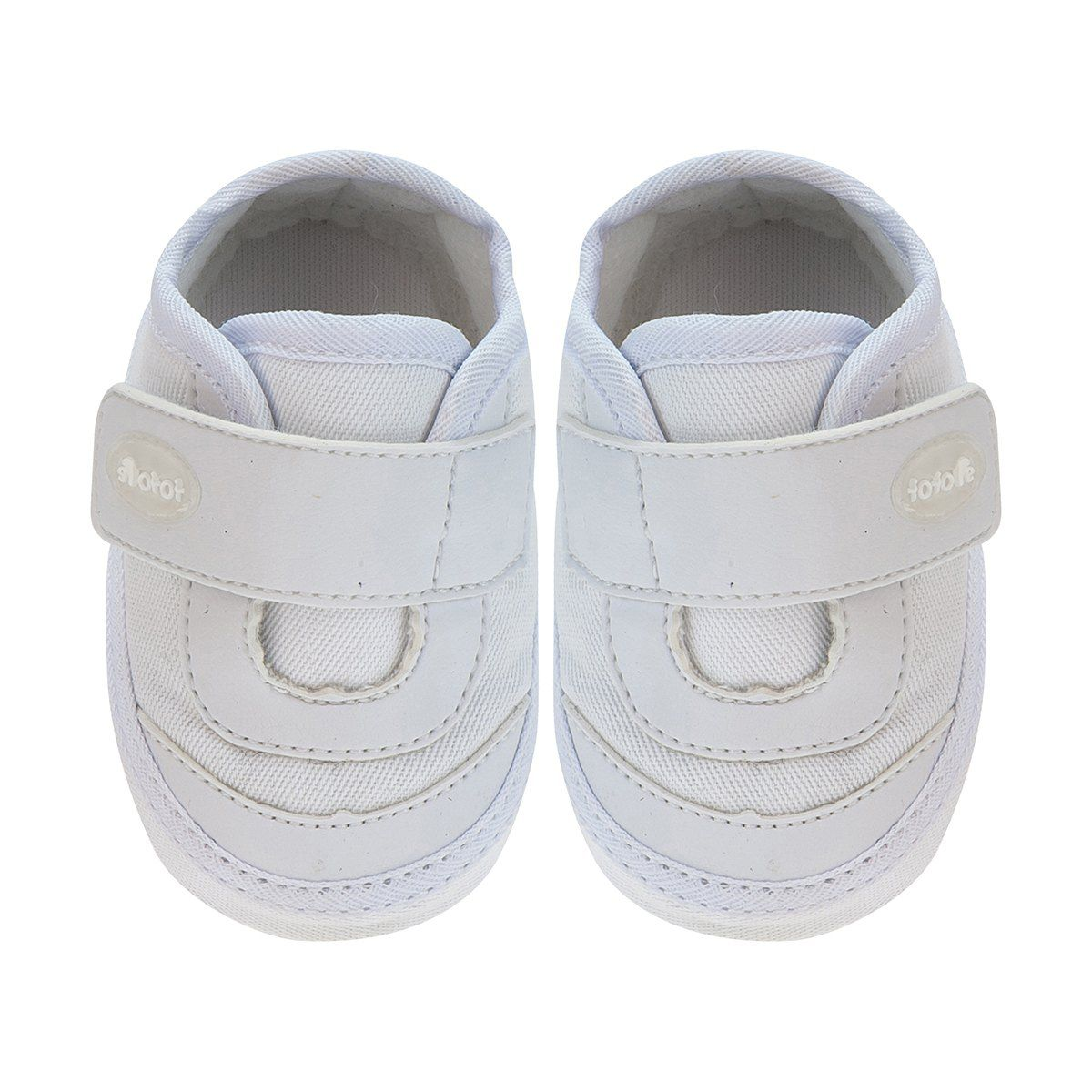 Tênis Masculino Velcro Branco - FOFOPÉ