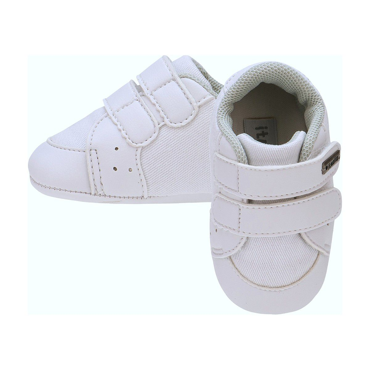 Tênis Menino Bebê Cor Branco - Itmalia