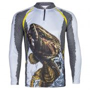 Camiseta de Pesca King KFF23 Traíra (Com Proteção Solar 50+)