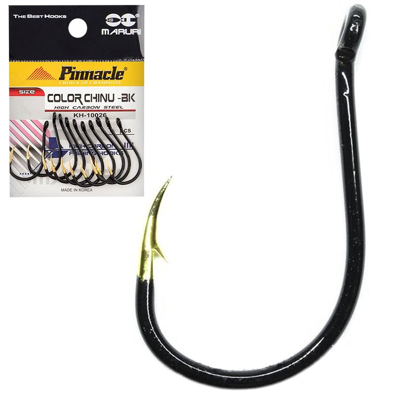 Anzol Pinnacle Chinu Color Black Gold 04 (10un)