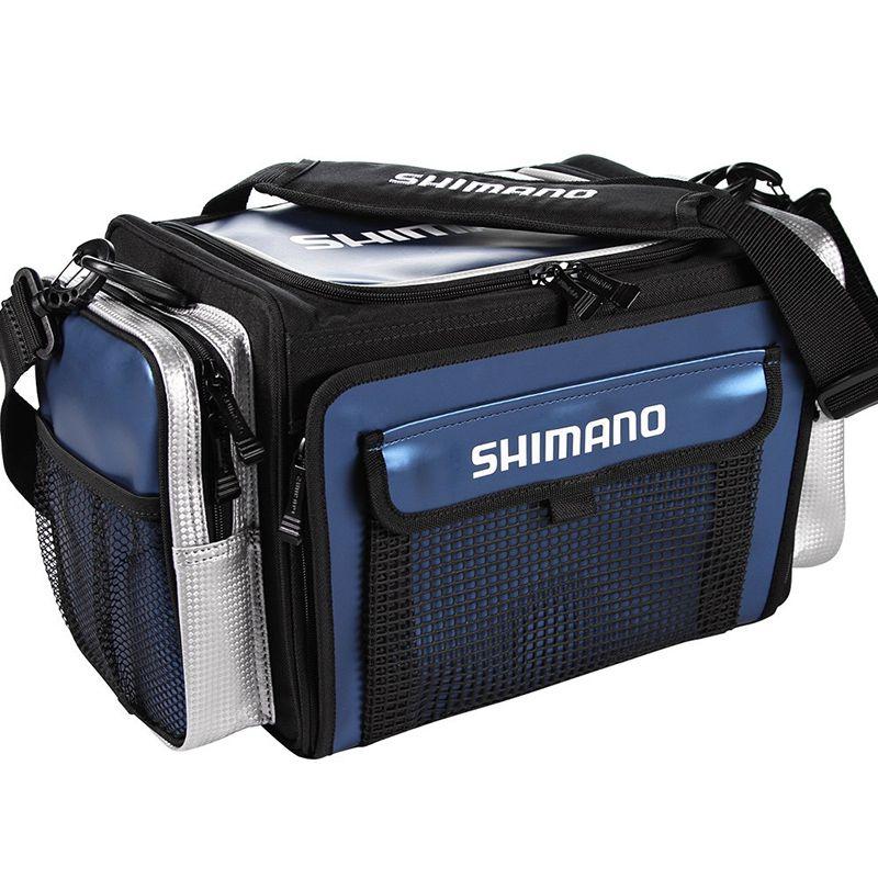 Bolsa Shimano Borona G BOR120LNV (3 Estojos, 43x30x23cm)