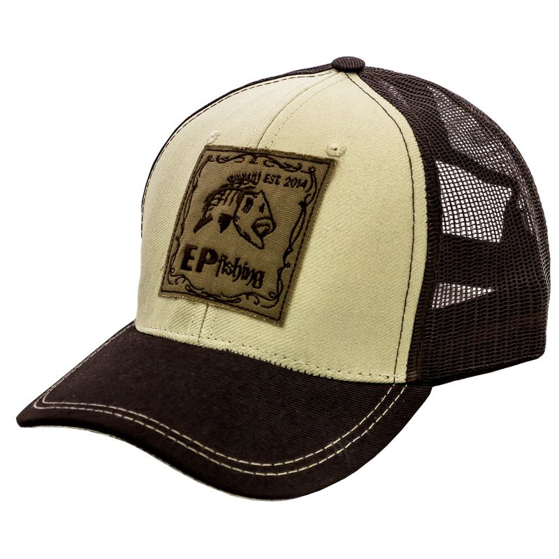 Boné EP Fishing Brown Classic